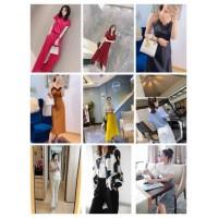 时尚潮流女生品牌裙子货源厂家微厂大牌服装